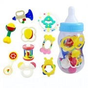 Baby Toys And Rattles Toy Gift Sets/ 9 Piece Baby Rattle Toy Gift Set