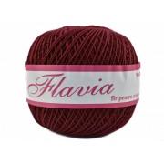 Fir de tricotat sau crosetat - Fire Bumbac 100% FLAVIA ROMANOFIR BOBINA MARO 1300