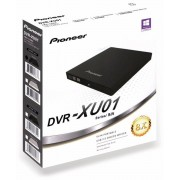 Pioneer DVD-Brenner PIONEER DVR-XU01T, USB, portable, schwarz