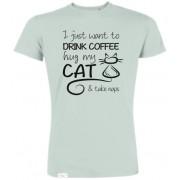 Supercat tshirt unisex Mintgrön