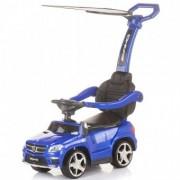 Masinuta de impins cu Copertina Mercedes Benz - Blue