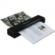Преносим двустранен скенер IRIS IRIScan Executive 4, A4, USB 2.0, Черен, 8 стр/минута