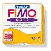Gyurma, 56 g, égethető, FIMO Soft, napsárga