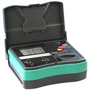 HOLDPEAK 5105A Digitális szigetelési ellenállás mérő 2505001000VAC 0.1Mohm-20Gohm hord táska.