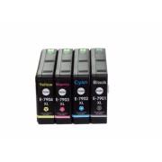 4x Tintenpatronen f. Epson Workforce Pro WF-5690 DWF kompatibel Nr. 79XL T7901 T7902 T7903 T7904 XL Turm von Pisa Serie