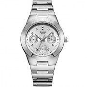 Casio Enticer Silver Dial Womens Watch - Ltp-2083D-7Avdf (A529)