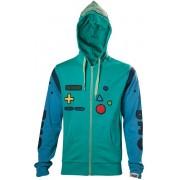 Adventure Time - Beemo Cosplay unisex hoody vest met capuchon multicolours - M - Televisie cartoon merchandise