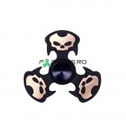 Fidget Spinner Punisher Black Gold