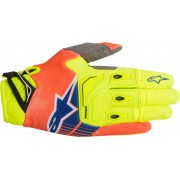 Alpinestars Techstar Motocross 2018 Gloves Yellow Orange S