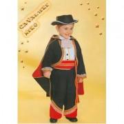 Costume Cavaliere Nero tg. 2/3 anni