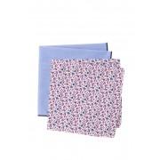 Nordstrom Rack Noah Floral Pocket Squares - Set of 2 NAVY