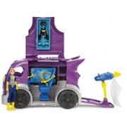 Jucarie Dc Super Hero Girls Batgirl Headquarters On Wheels