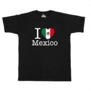 geschenkidee.ch Ländershirt Mexiko, Schwarz, XL, Mann