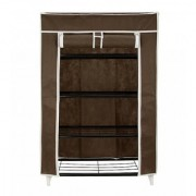 Home creations Collapsible Storage Cabinet Shoe Rack Wardrobe