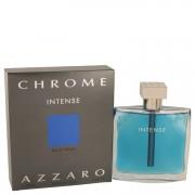 Chrome Intense Eau De Toilette Spray By Azzaro 3.4 oz Eau De Toilette Spray