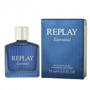 Replay Essential For Him Eau De Toilette 75 Ml Spray (079602636971)