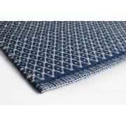 Aspegren Teppich Rhombe blue 140x200