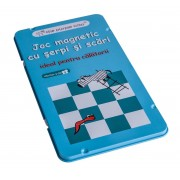 Joc magnetic MomKi cu scari si serpi
