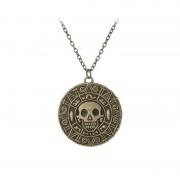 Medalion Lantisor Colier Piratii Din Caraibe - Jack Sparrow - Aztec