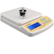 Life Friends SF_400A Digital Electronic Kitchen Weight Machine Capacity 10Kg Weighing Scale(White)