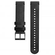Suunto 20mm Urban 2 Leather Strap BLACK/BLACK Size M