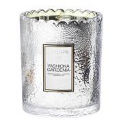 Voluspa Boxed Scalloped Candlepot Yashioka Gardenia