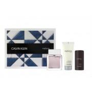 Calvin Klein Euphoria for Men Gift Set - EDT 100ml + Stick 75gr + AS Balm 100ml за мъже