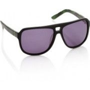 Animal Aviator Sunglasses(Violet)
