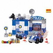 Set Constructii Sectia de Politie - Ecoiffier