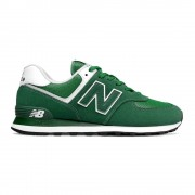 New Balance Sneakers 574 Mesh Suede Verde Bianco Uomo EUR 42.5 / US 9