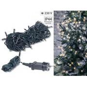 LED-Lichterkette mit 160 LEDs für innen & aussen, IP44, warmweiss, 16 m | Lichterkette