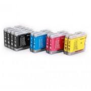 (10pack) BROTHER LC1000 VALBP multipack - kompatibilné náplne do tlačiarne Brother