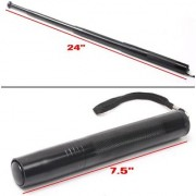 kudos Security Self Defense System Telescopic Iron Baton Folding Stick