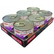 Carny Adult MULTIPACK hovězí a jehněčí - konzerva 6x200 g