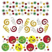 Amscan Fun-Filled Angry Birds Birthday Party Confetti Decoration (Pack of 1) Multicolor 1.2 oz