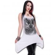 šaty dámské (top) SPIRAL - WINGS OF WISDOM - White - E022F115