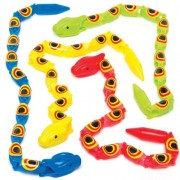Baker Ross Jointed Wiggly Snakes (Pack of 10)