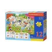 Puzzle educativ Mama si copilul, 36 piese