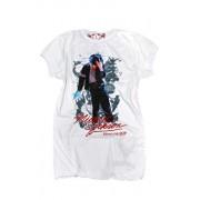 Michael Jackson Portrait T-Shirt damski AV101KOP (biały-wzór)
