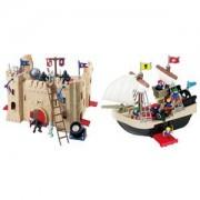 Redbox Slott & Piratskepp
