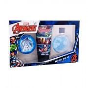 Marvel Avengers sada toaletní voda 100 ml + gel na vlasy 75 ml + sprchový gel 150 ml pro děti