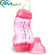 DIFRAX Butelka S antykolkowa wąska 170 ml (fuksja)