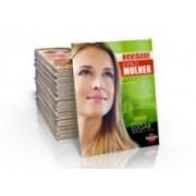 Folders e folhetos Couchê 90g 7x10 cm 4x4 UV Total Frente e Verso Sem Acabamento - 1000000 unidades