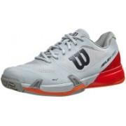 Wilson Rush Pro 2.5 Tennis Shoes(White, Red)