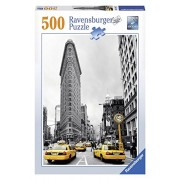 Ravensburger Puzzles Flat Iron New York City, Multi Color (500 Pieces)