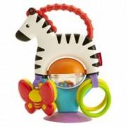 Jucarie zornaitoare pentru bebelusi model Zebra Fisher Price