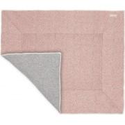 Koeka Boxkleed Vigo - old pink/sparkle grey 80x100cm