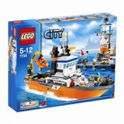 Lego (LEGO) City patrol boat and tower 7739