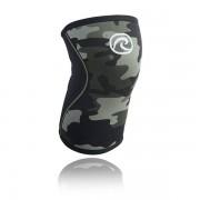 Rehband RX Kniebrace - 7 mm - Zwart/Camo - S