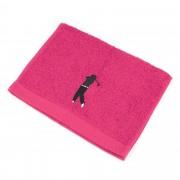 Linnea Serviette invite 33x50 cm 100% coton 550 g/m2 PURE GOLF Rose Fuchsia